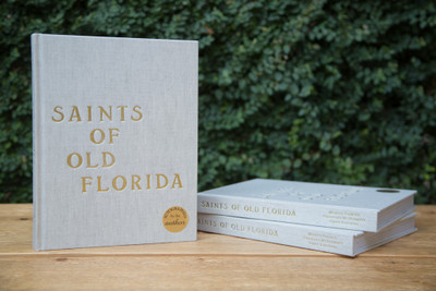 A collaboration between Melissa Farrell, Christina McDermott and Emily Raffield. We invite you to get lost in Old Florida, a place where a genuine essence of simplicity, adventure and community thrive. All of these saints are shared in Saints of Old Florida through personal stories, written contributions by area locals, meaningful recipes, vintage relics and authentic photography.A timeless book for those who love the coast. 252 full-color pages, on uncoated paper, natural linen cloth hardback cover. Custom, gold embossed cover art.