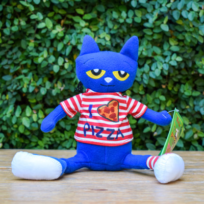 Pete the Cat Pizza Party Doll - 14""