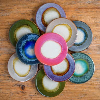 Round Stoneware Coaster