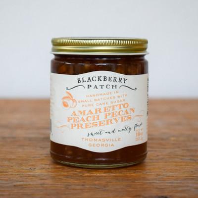 Amaretto Peach Pecan Preserves