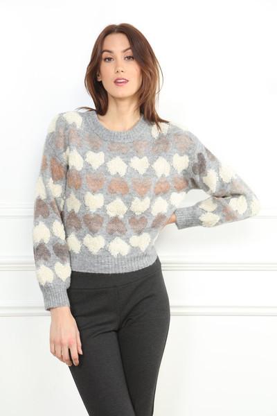 Hearts Sweater
