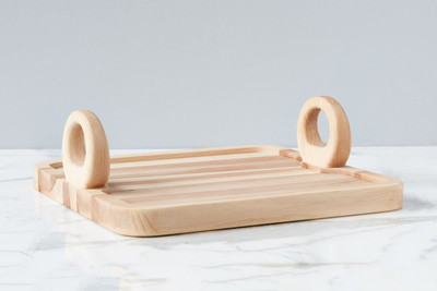 Perfect to take you from preparation all the way to serving! The Belgian Chopping Tray offers an attractive way to minimize mess and make a beautiful presentation!