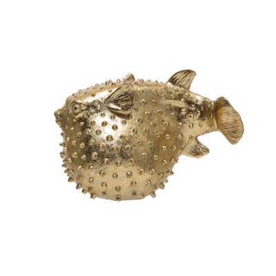 Puffer Fish - Gold