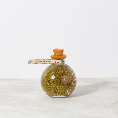 Dill Blossom Infused Vinegar