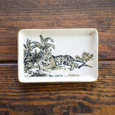 Jungle Cat Stoneware Plate