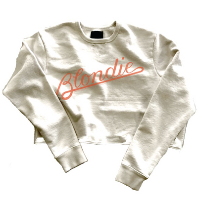 Blondie Cropped Sweatshirt