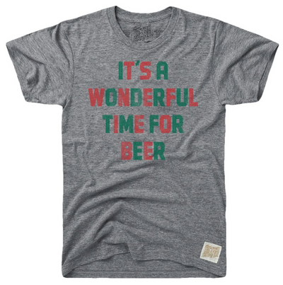 Wonderful Time for Beer Retro Tee