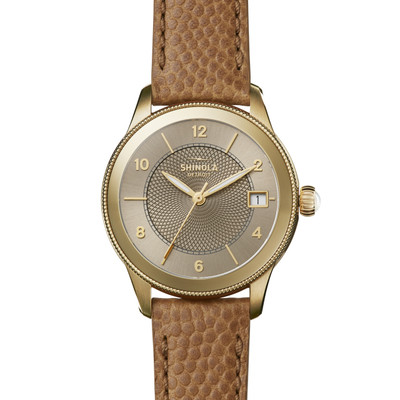 Feminine charm cannot be manufactured, but this is pretty close. The Gail, made by Shinola, is a model of strength and beauty.