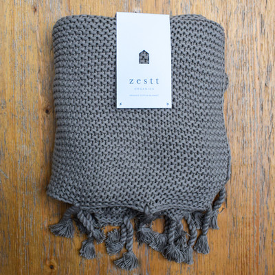 A luxurious heavy knit throw is the perfect thing to cuddle up with on the sofa, or decorate your favorite chair.