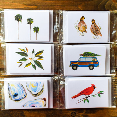 Enclosure Card with Envelope - Set of 6