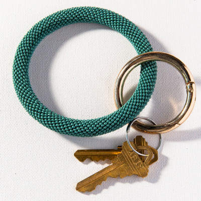 Seed Bead Key Ring
