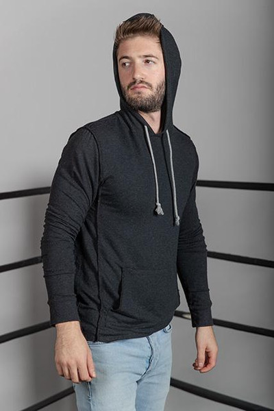 Modal French Terry Sweatshirt with Thermal Hood