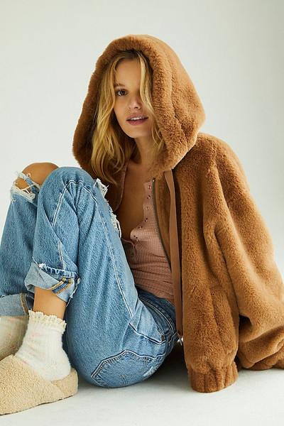 Freya Fur Hoodie