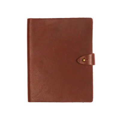Venture Leather Notebook - Saddle