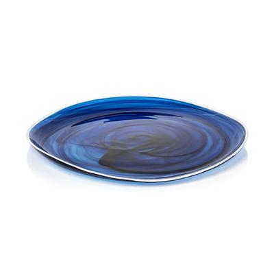 "Monte Carlo Alabaster Glass Plate - 11.5"""