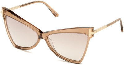 Tallulah Sunglasses - Rose Champagne with Rose Gold