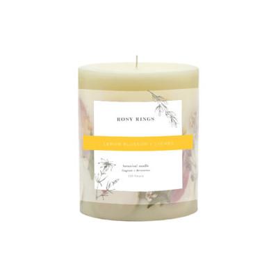Botanical Candle - Small Round - Lemon Blossom + Lychee
