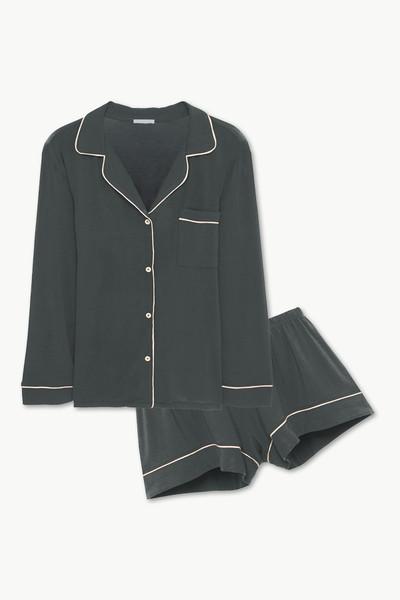 Gisele Long Sleeve Short PJ Set