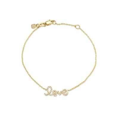 Pave Love Bracelet
