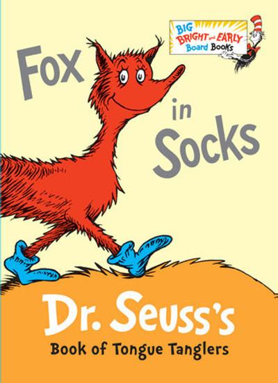 Fox in Socks by Dr. Seuss (Bright & Early Board Book)