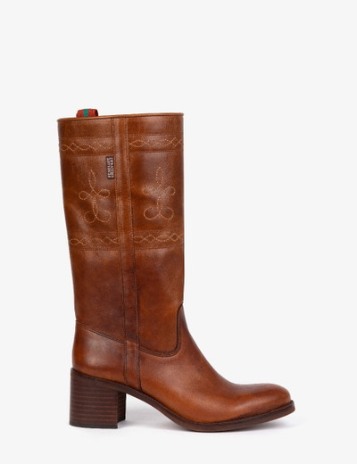 Sanfran Leather Boot