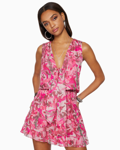 Maison Ruffle Mini Dress