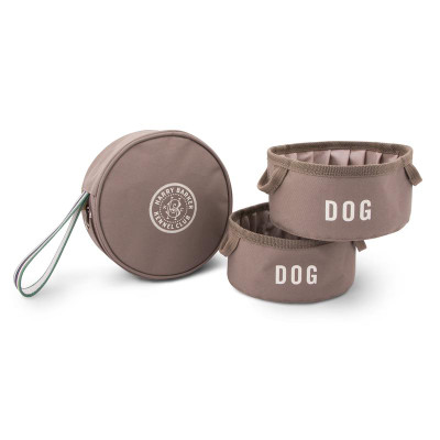 Kennel Club Travel Bowl w/ Pouch