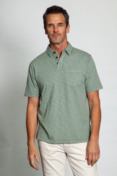 Sueded Tencel Polo