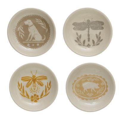 Round Stoneware Plate