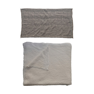 Bed Cover and Sham Set