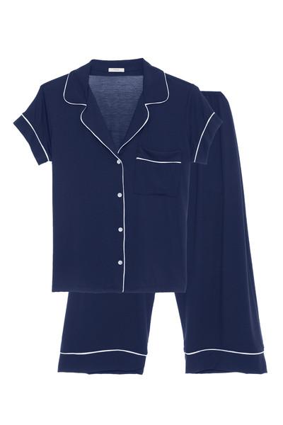 Gisele Short Sleeve Cropped PJ Set