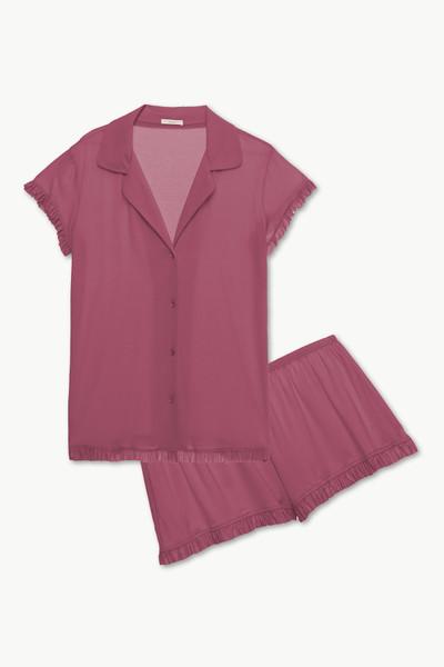 Ruthie Short Sleeve Ruffle PJ Set