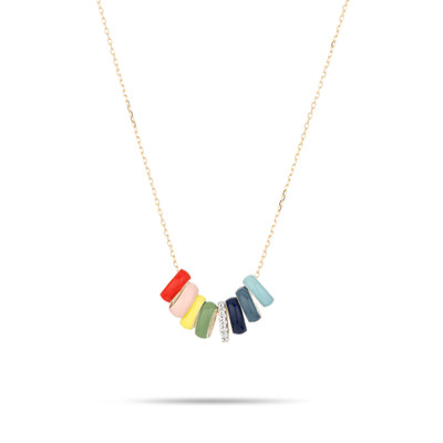 Bead Party Necklace - Carnival