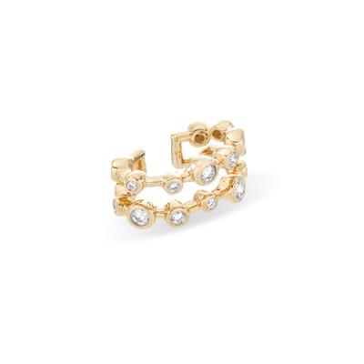 Diamond Barnacles Double Ear Cuff - Y14