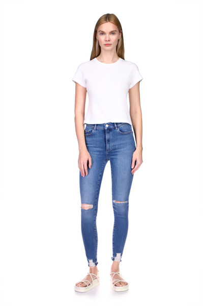 Farrow Ankle: Instaslim High Rise Skinny