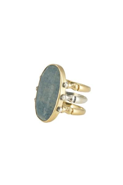 Triad Ring - Sky Jade - 7.5