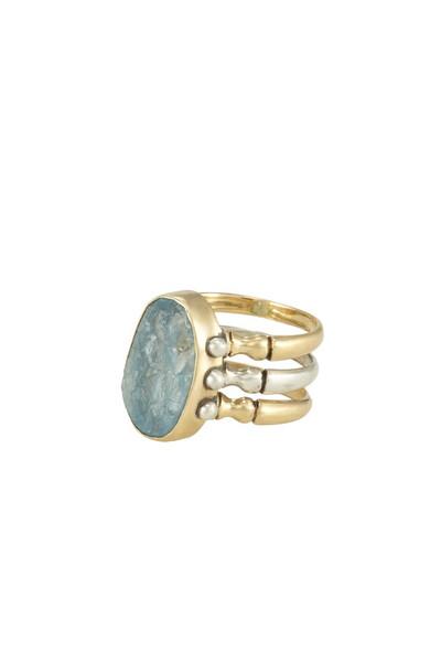 Triad Ring - Aquamarine - 7