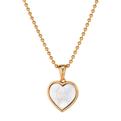 Love You Charm Necklace