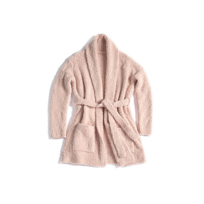 Clemence Cozy Robe - Blush