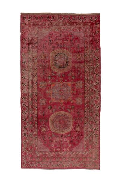 "Vintage Khotan Rug - 11'1"" x 5'11"""