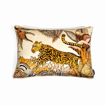 Cheetah Kings Lumbar Pillow