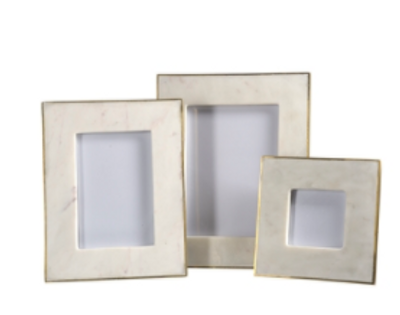 Marble & Brass Frame