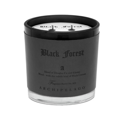 Black Forest  Letter Press Candle - 13oz