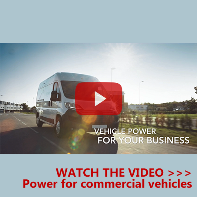 New video: Power solutions for vehicles & fleets