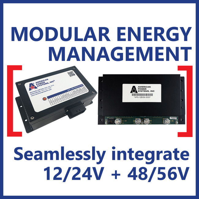 Total energy management with our smart alternator regulator & bi-directional converter