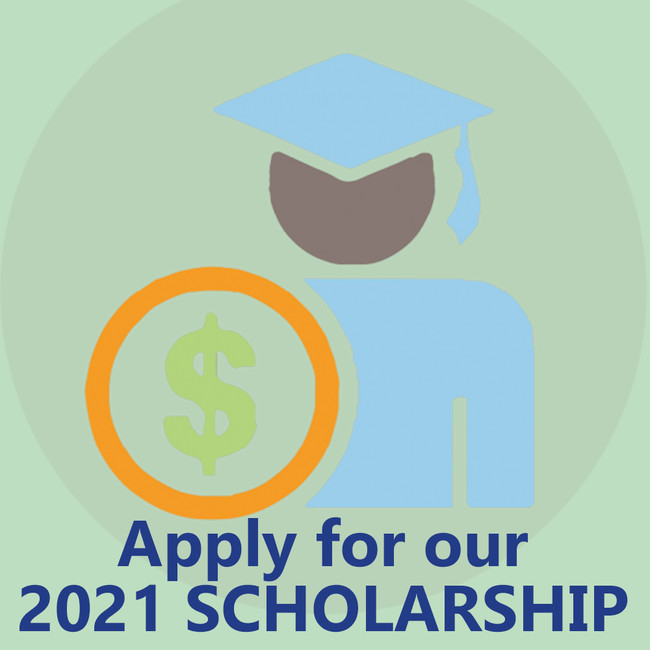 Apply today! Local students, learn more about our 2021 scholarship