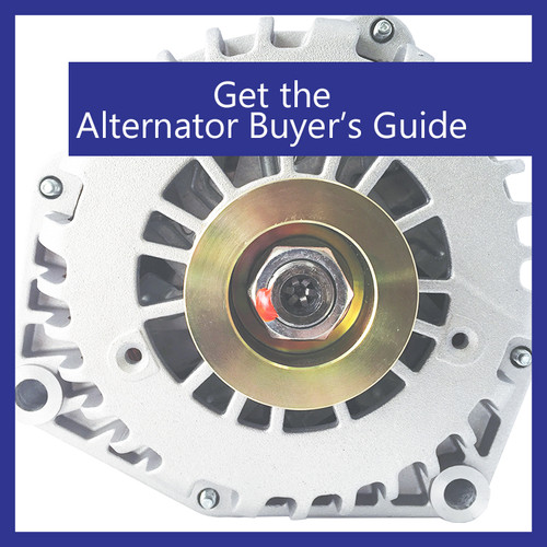 In the know: Download the Alternator Buyer's Guide