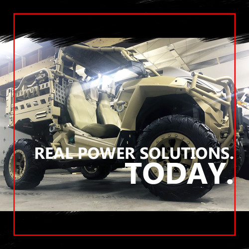 Developing vehicle power solutions for defense, recreation & more