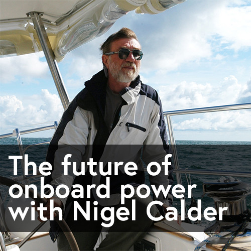 Sailing through: Marine expert Nigel Calder talks shop with APS