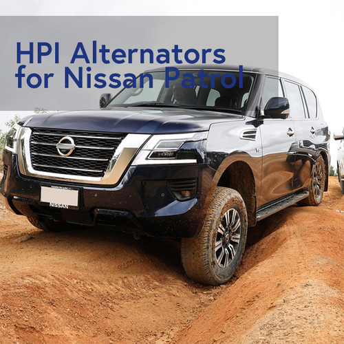 New high-output alternators for Nissan Patrol